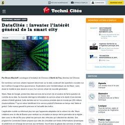 DataCités : inventer l'intérêt général de la smart city