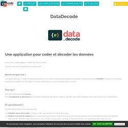 DataDecode - Code Décode