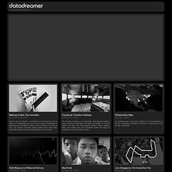 datadreamer - the work of aaron siegel