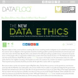 Big Data Ethics: How Does It Affect Your Privacy?