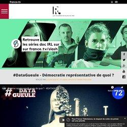 #DataGueule S6E1 - Démocratie représentative de quoi ? - Retrouve les séries doc IRL sur france tv slash