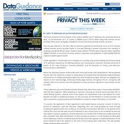 Privacy This Week
