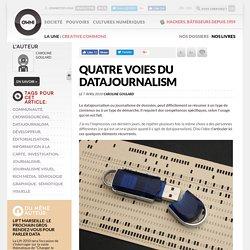 Quatre voies du datajournalism