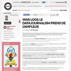 Le datajournalism prend de l''ampleur » Article » OWNI, Digital Journalism