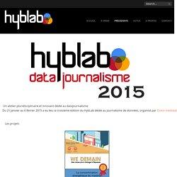 HybLab Datajournalisme 2015