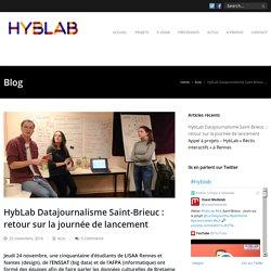 HybLab Datajournalisme Saint-Brieuc : retour sur la journée de lancement - Hyblab ouestmedialab