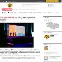 Datajournalisme. Le Télégramme primé à Nantes - #Dataspot