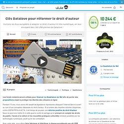 Clés Datalove pour réformer le droit d'auteur
