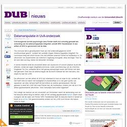 DUB: Datamanipulatie in UvA-onderzoek