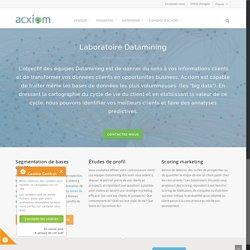 Etudes datamining et analyse des données clients, Big data - Acxiom