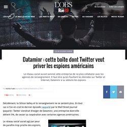 Dataminr: cette boîte dont Twitter veut priver les espions américains