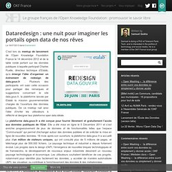 Dataredesign : une nuit pour imaginer les portails open data de nos rêves