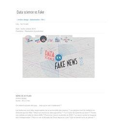 Datascience vs Fake News