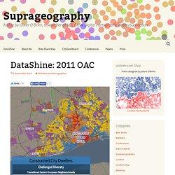 DataShine: 2011 OAC