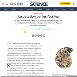 La datation par les fossiles