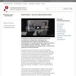Social Datavidenskab – Københavns Universitet
