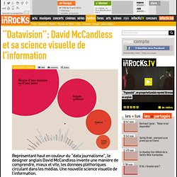 """Datavision"": David McCandless et sa science visuelle de l'information"