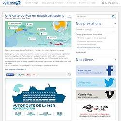 Cyanéa - Nantes : Une carte du Port en datavisualisations - Nantes Saint-Nazaire Port