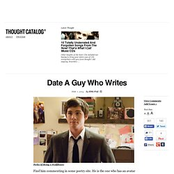 Date A Guy Who Writes