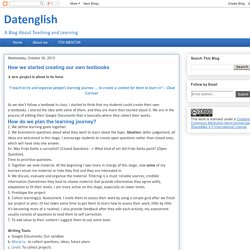 Datenglish: How we started creating our own textbooks