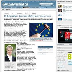 EU-Datenschutz: Das müssen Schweizer Firmen wissen