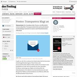 Datenschutz ǀ Posteo: Transparenz klagt an