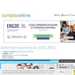 Dates du DCG 2021 : calendrier des épreuves