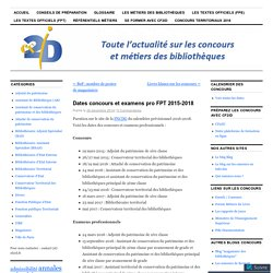 Calendrier concours justice