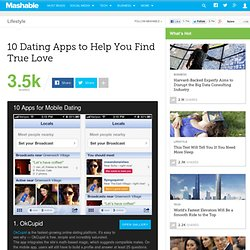 10 Dating Apps to Help You Find True Love