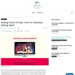 dating clone script