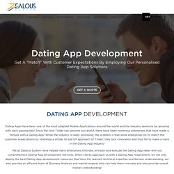 Hire Dating App Developers