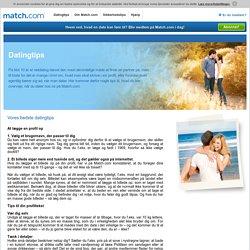 Dating med Match.com – det starter med et klik