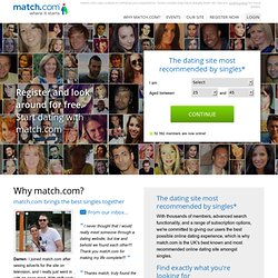 Dating with Match.com | The UK's biggest online dating site