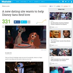 A new dating site wants to help Disney fans find love