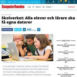 Alla elever och lärare får egna datorer – kommunerna ska öppna plånboken