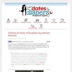 50 Rules for Dads of Daughters {by Michael Mitchell}