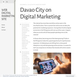 Davao City on Digital Marketing
