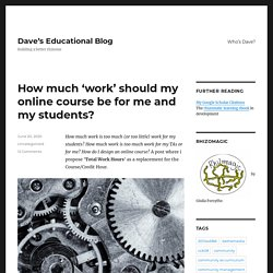 Dave's Educational Blog
