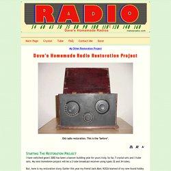 Dave's Radio Restoration Project