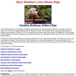 Dave Watkins's Live Steam Page