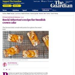 David Atherton's recipe for Swedish crown cake