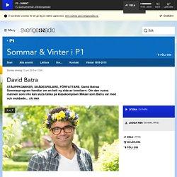 David Batra 21 juni kl 13:00 - Sommar & Vinter i P1