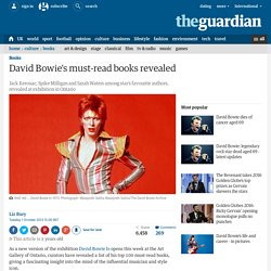 David Bowie's must-read books revealed