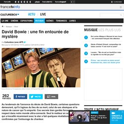 David Bowie : une fin entourée de mystère