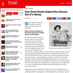 How David Bowie Helped Nina Simone Out of a Slump