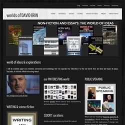 DAVID BRIN's world of ideas