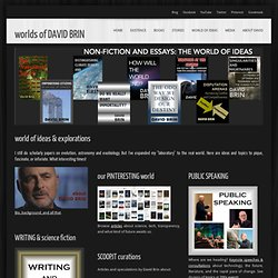 DAVID BRIN's world of ideas