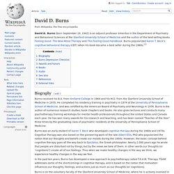 David D. Burns