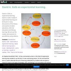 david kolb learning styles pdf