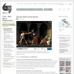 David's Oath of the Horatii